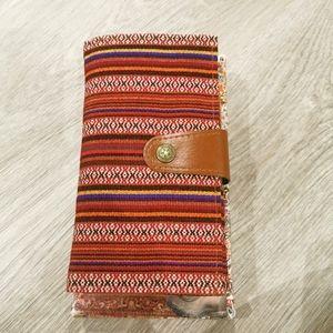 Vintage boho style wallet